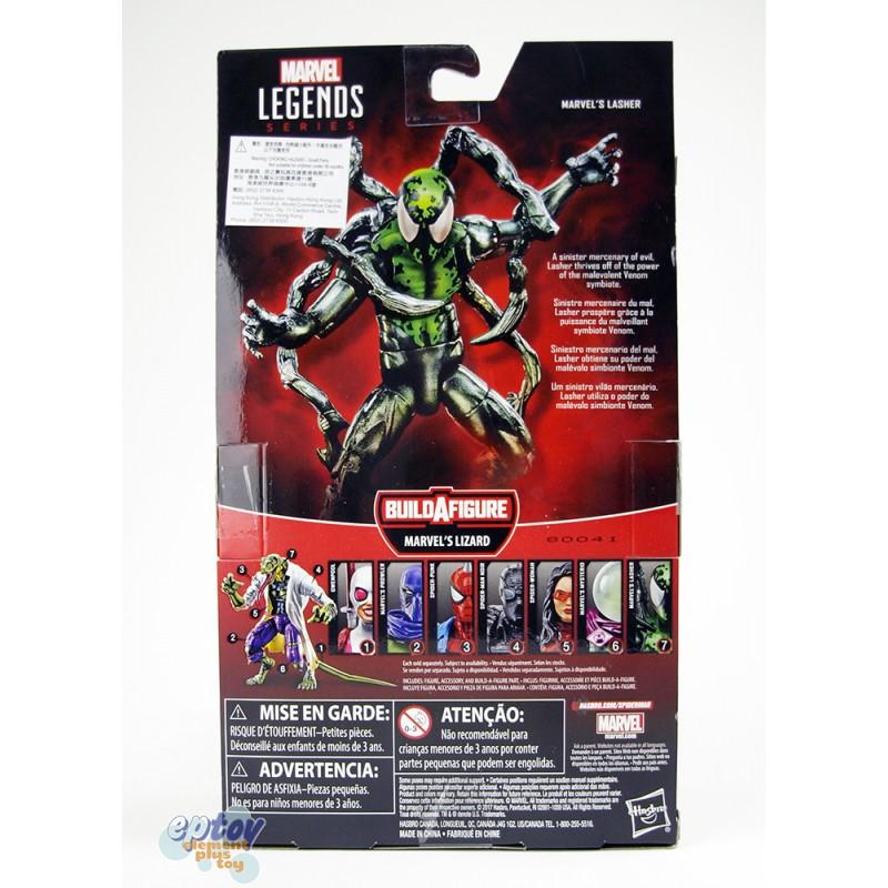 Marvel Spider-Man Build a Figure Marvel's Lizard Series 6-inch Figures Set
