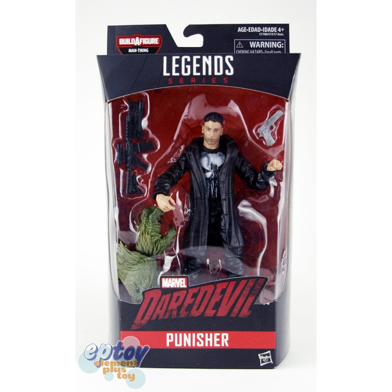 Marvel Daredevil Build a Figure Man-Thing Series 6-inch Figures Set
