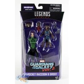 Marvel Guardians of the Galaxy Build a Figure Marvel's Mantis Series Rocket Raccoon & Groot