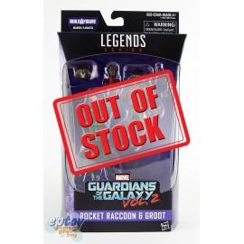 Marvel Guardians of the Galaxy Build a Figure Marvel's Mantis Series Rocket Raccoon & Groot
