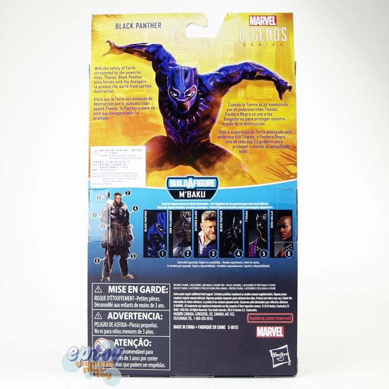 Marvel Avengers Infinity War Build a Figure M'Baku Series 6-inch Black Panther