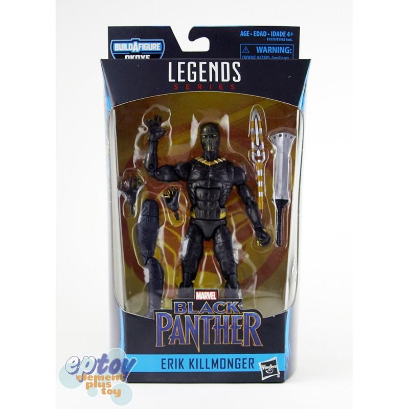Marvel Black Panther Build a Figure Okoye Series 6-inch Erik Killmonger