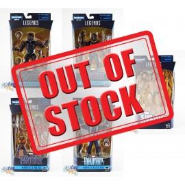 Marvel Black Panther Build a Figure Okoye Series 6-inch Figures Set
