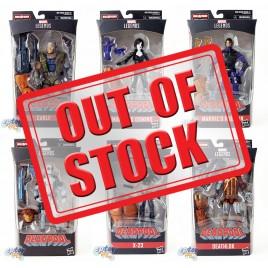 Marvel Deadpool Build a Figure Marvel's Sasquatch Series 6-inch Figures Set