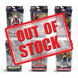 Marvel X-Man Deadpool Build a Figure Dr.Karl Lykos Marvel's Sauron Series 6-inch Figures Set