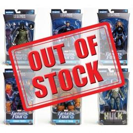 Marvel Fantastic Four Build a Figure BAF Super Skrull Series 6-inch Figures Set of 6