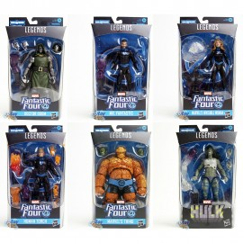 Marvel Fantastic Four Build a Figure BAF Super Skrull Series 6-inch Figures Set of 6