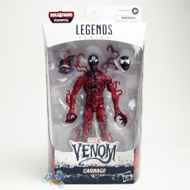 Marvel Spider-Man Maximum Venom Build a Figure BAF Venompool Series 6-inch Carnage