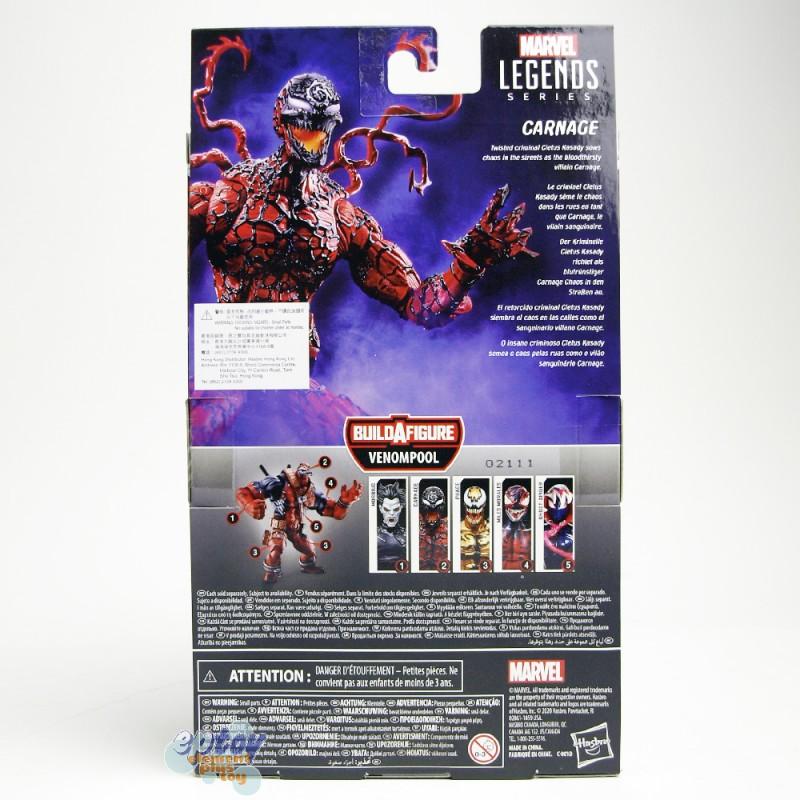 Marvel Spider-Man Maximum Venom Build a Figure BAF Venompool Series 6-inch Carnage