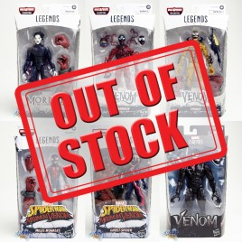 Marvel Spider-Man Maximum Venom Build a Figure BAF Venompool Series 6-inch Figures Set of 6