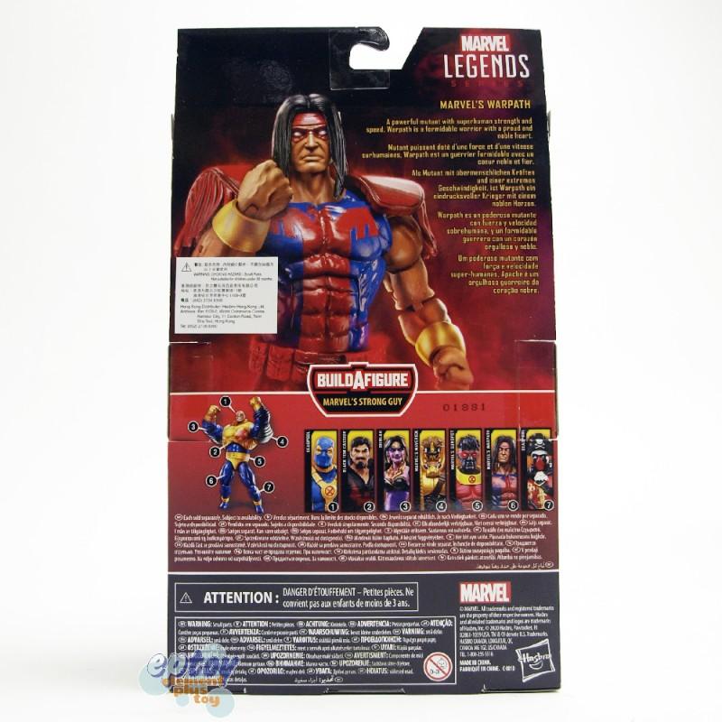 Marvel Deadpool X-Force Build a Figure BAF Strong Guy Series 6-inch Figures Set of 7