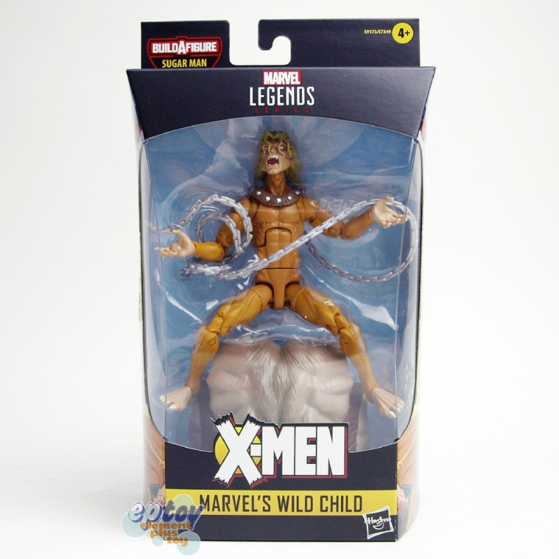 Marvel X-Man The AGR of Apocalypse Build a Figure BAF Sugar Man Series 6-inch Figures Set of 7