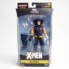 Marvel X-Man The AGR of Apocalypse Build a Figure BAF Sugar Man Series 6-inch Weapon X