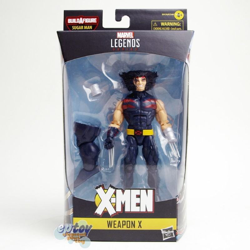 Marvel X-Man The AGR of Apocalypse Build a Figure BAF Sugar Man Series 6-inch Weapon X
