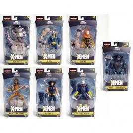 Marvel X-Man The AGR of Apocalypse Build a Figure BAF Sugar Man Series 6-inch Figures Set of 7