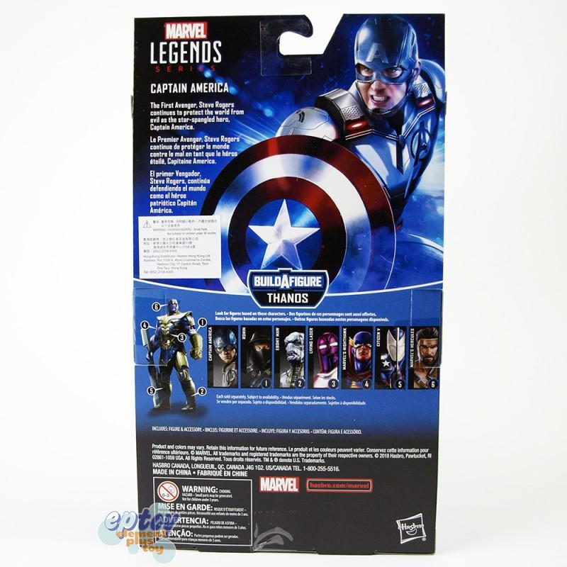 Marvel Avengers Build a Figure Thanos Series 6-inch Captain America