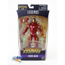 Marvel Avengers Infinity War Build a Figure Thanos Series 6-inch Iron Man