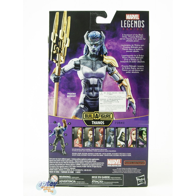 Marvel Avengers Infinity War Build a Figure Thanos Series 6-inch Figures Set