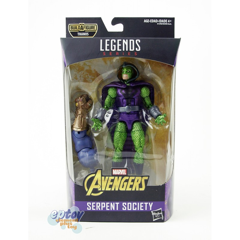 Marvel Avengers Infinity War Build a Figure Thanos Series 6-inch Figures Set