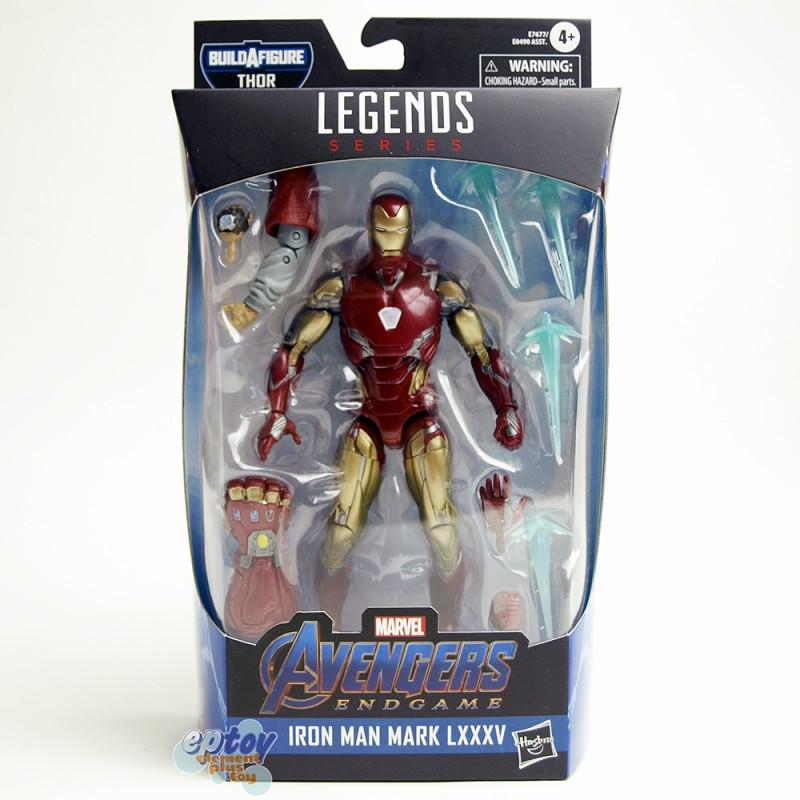 Marvel Avengers Build a Figure BAF Thor Series 6-inch Iron Man Mark LXXXV