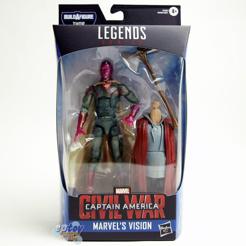 Marvel Avengers Build a Figure BAF Thor Series 6-inch Figures Set of 6