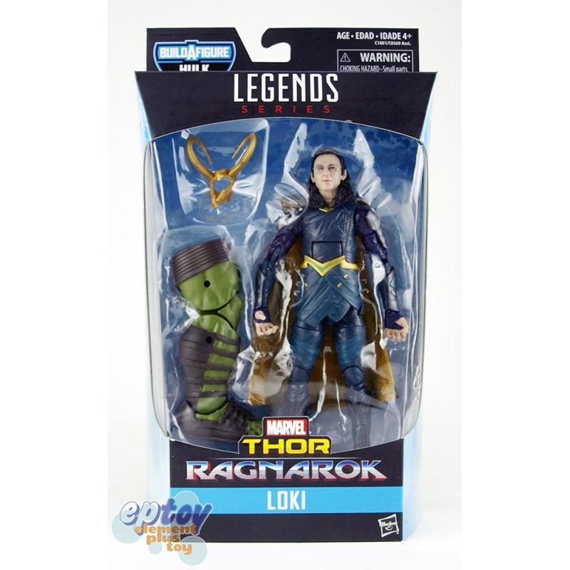 Marvel Thor Ragnarok Build a Figure Hulk Series 6-inch Loki