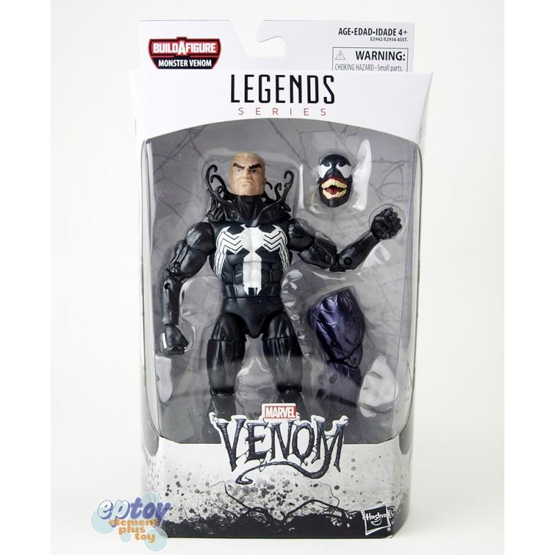 Marvel Spide-Man Build a Figure Monster Venom Series 6-inch Venom