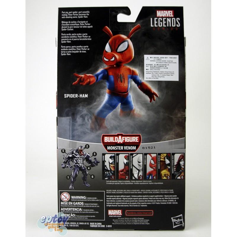 Marvel Spide-Man Build a Figure Monster Venom Series 6-inch Figures Set