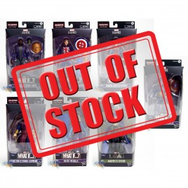 Marvel What If Build a Figure BAF Marvel's The Watcher Series 6-inch Figures Set