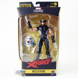 Marvel X-Men X-Force Build a Figure BAF Wendigo Series 6-inch Wolverine