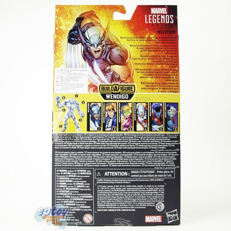Marvel X-Men X-Force Build a Figure BAF Wendigo Series 6-inch Wolverine