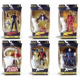Marvel X-Men X-Force Build a Figure BAF Wendigo Series 6-inch Figures Set