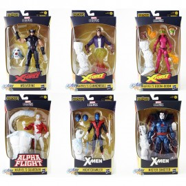 Marvel X-Men X-Force Build a Figure BAF Wendigo Series 6-inch Figures Set