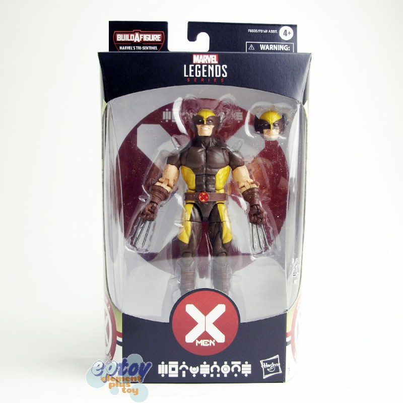 Marvel House of X-Man Build a Figure BAF Tri-Sentinel Series 6-inch Wolverine