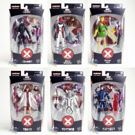 Marvel House of X-Man Build a Figure BAF Tri-Sentinel Series 6-inch Figures Set of 6