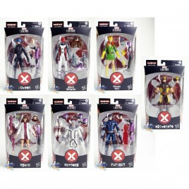 Marvel House of X-Man Build a Figure BAF Tri-Sentinel Series 6-inch Figures Set of 7