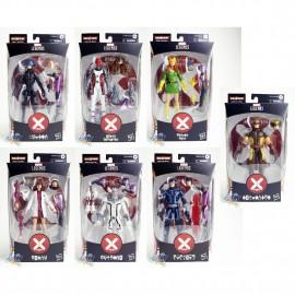 Marvel House of X-Man Build a Figure BAF Tri-Sentinel Series 6-inch Figures Set of 7