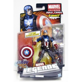 Marvel Build a Figure Hit Monkey Series 6-inch Ultimate Captain America