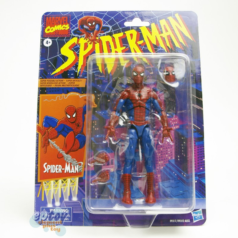 Marvel Legends Vintage Comics 6-inch Spider-Man Figures Set