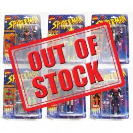 Marvel Legends Vintage Comics 6-inch Spider-Man Figures Set