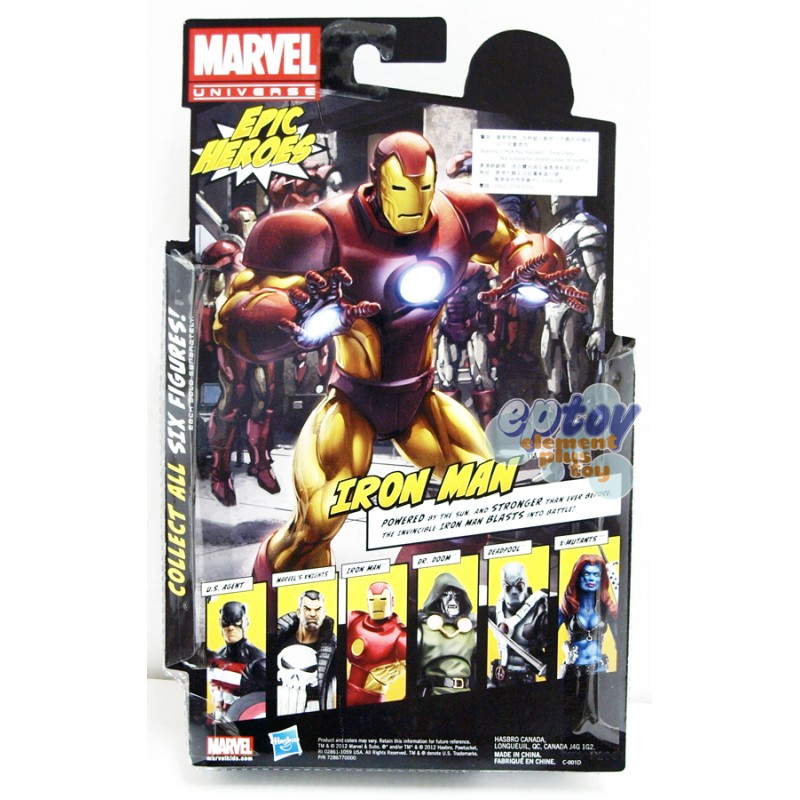 Marvel Universe Epic Heroes 6-inch Iron Man