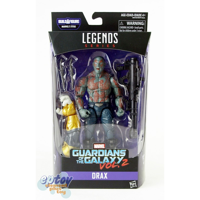 Marvel Guardians of the Galaxy Build a Figure Marvel's Titus Series 6-inch Figures Set