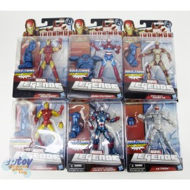 Marvel Iron Man Build a Figure Iron Monger Series 6-inch Figures Set