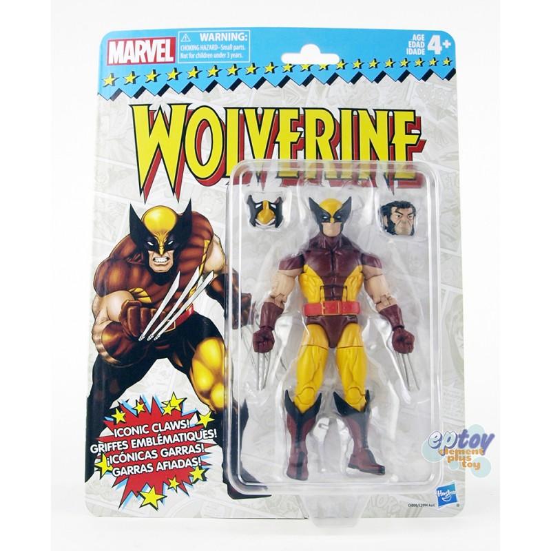 Marvel Super Heroes Vintage 6-inch Action Figures Set