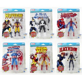 Marvel Super Heroes Vintage 6-inch Action Figures Set