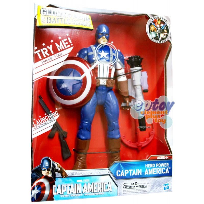 Marvel Captain America The First Avenger Hero Power Captain America