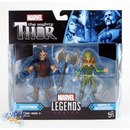 Marvel Thor The Mighty 2 Packs 3.75-inch Executioner & Enchantress