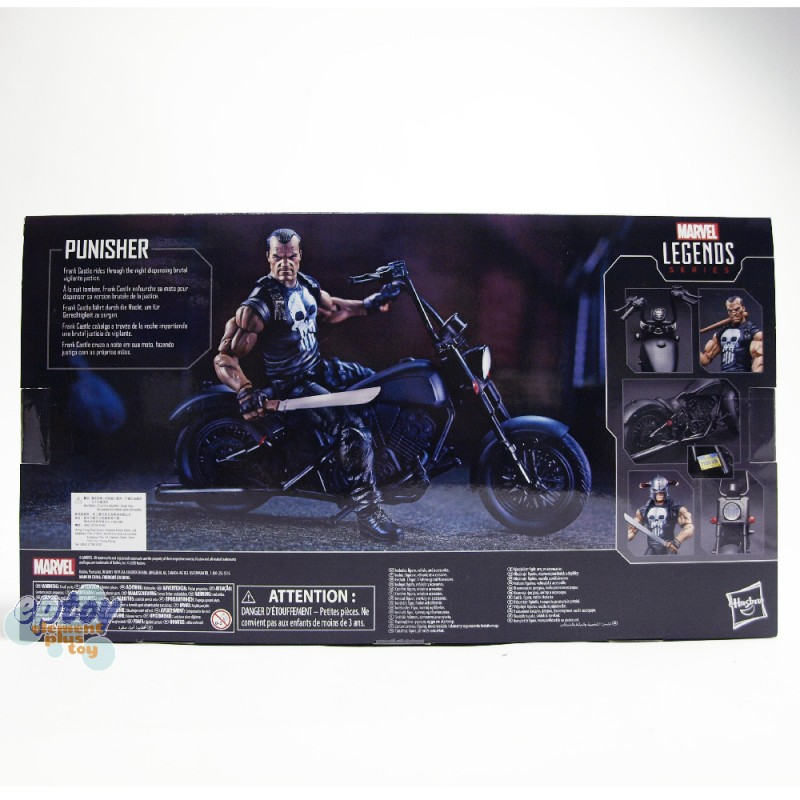 Marvel Legends Series 6-inch Vehicle Rider The Punisher