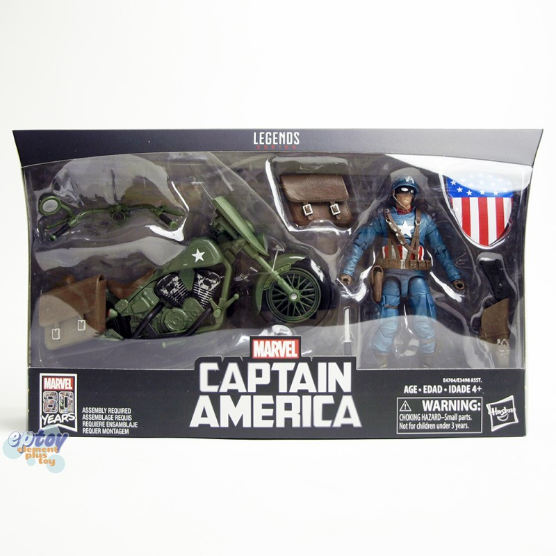 Marvel Legends Series 6-inch Vehicles Captain America