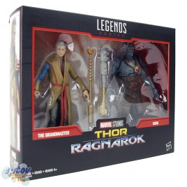 Marvel Legends Series 80 Years 6-inch Thor Ragnarok The Grandmaster & Korg